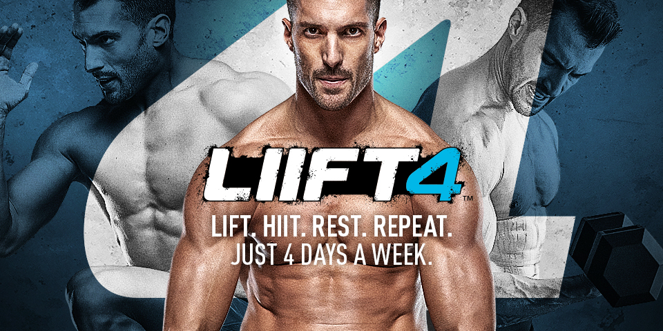 Just 4 Days a Week with Lift 4!